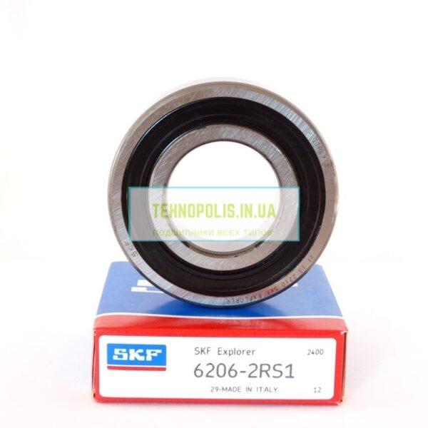 цена подшипник 6206 2RS1 SKF (180206)