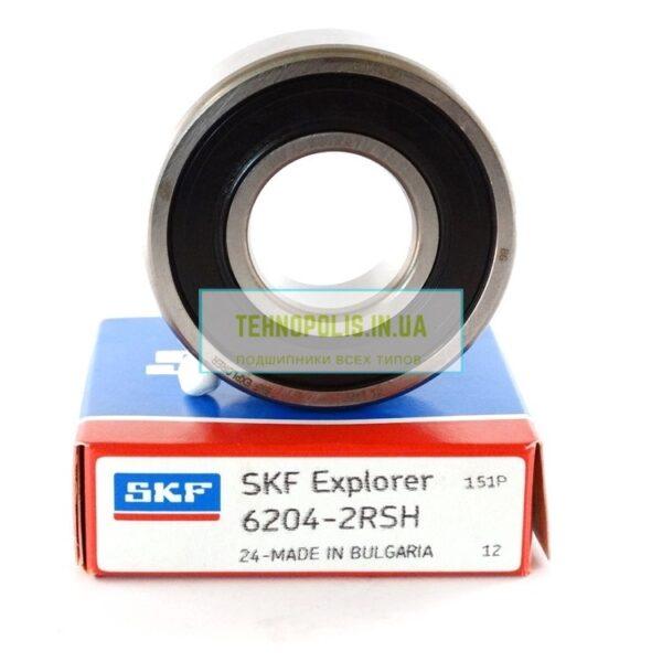 ціна підшипник 6204 2RSH SKF (180204)