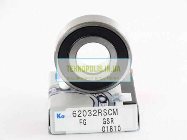 Купити підшипник 180203 (6203 2RSCM) KOYO