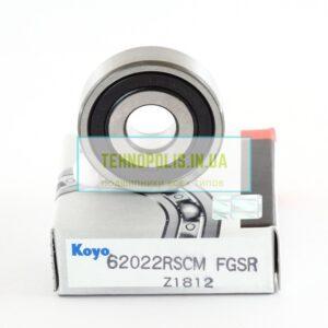 Купити підшипник 180200 (6200 2RSCM) KOYO